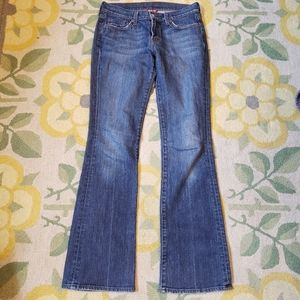Lucky brand bootcut henna sweet n low jeans